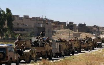 انطلاق عملية عسكرية للقضاء على بقايا داعش فى محافظة الأنبار بالعراق