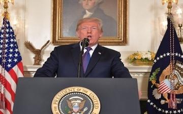 ترامب : خطط عقد قمة سنغافورة مع كيم لم تتغير