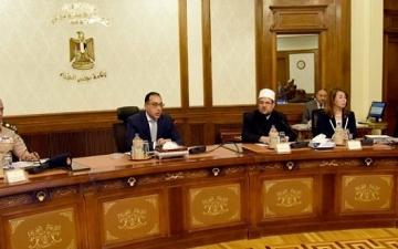 مصطفى مدبولى يرأس اليوم الاجتماع الاسبوعى لمجلس الوزراء