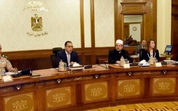 مجلس الوزراء يناقش فى اجتماعه اليوم موقف المشروعات القومية واستعدادات عيد الأضحى