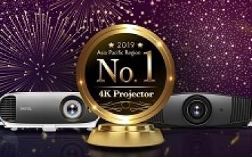أجهزة العرض 4K من بينكيو تتصدر المرتبة الأولى لمدة 5 أرباع متتالية