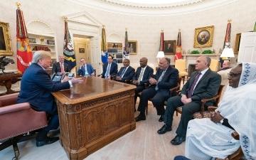 انطلاق اجتماع مناقشة مسودة الاتفاقية الإطارية لسد النهضة فى واشنطن اليوم