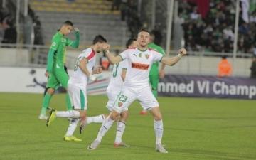 الرجاء المغربى يصعد لنهائى البطولة العربية رغم خسارته من المولودية