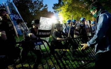 تواصل مظاهرات امريكا لليوم السادس على التوالى