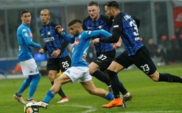 قمة خارج التوقعات بين نابولى وإنتر ميلان فى نصف نهائى كأس إيطاليا