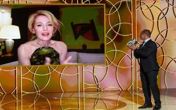 نومادلاند وبورات ومسلسل ذا كراون يحصدون جوائز Golden Globe