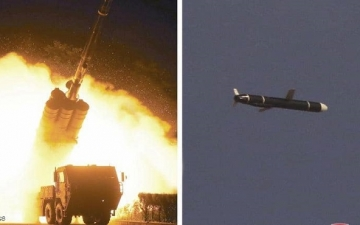 كوريا الشمالية تختبر صاروخ كروز .. والبنتاجون تعتبره تهديداً