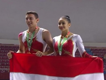 مصر تحصد 3 ذهبيات وفضية وبرونزية في منافسات الجمباز بدورة الألعاب الأفريقية للشباب بالجزائر