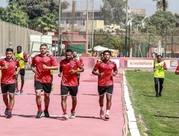 الأهلى يواصل استعداداته لمواجهة وفاق سطيف فى البطولة الافريقية