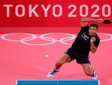 عمر عصر يتأهل لدور الـ16 بمنافسات تنس الطاولة في أولمبياد طوكيو