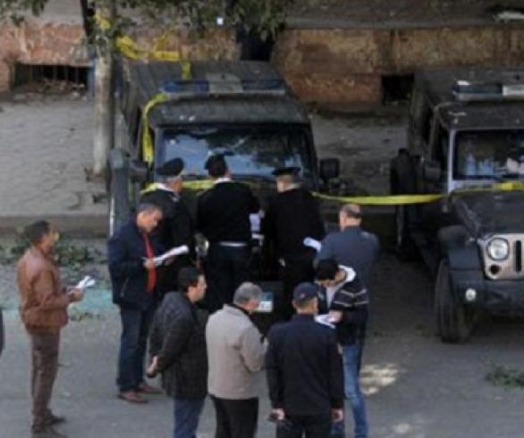 انفجار عبوتين ناسفتين بالهرم واستشهاد 6 من رجال الشرطة