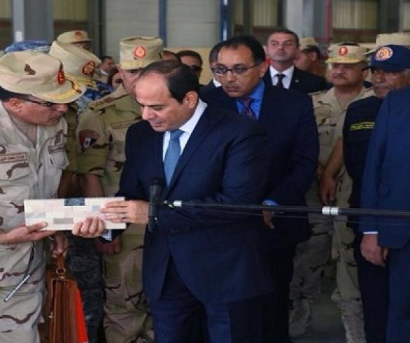 السيسي يُمهل الحكومة 4 أشهر لإعداد خطة إصلاح مصانع الدولة