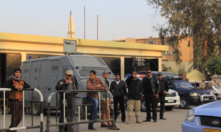 """استنفار امنى بمحيط ميدان الاربعين ترقبا لمظاهرات """"الارهابيه"""""""