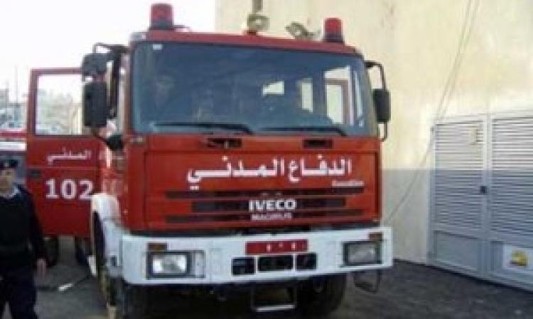 الحماية المدنية تسيطر علي حريق بالقناطر الخيرية