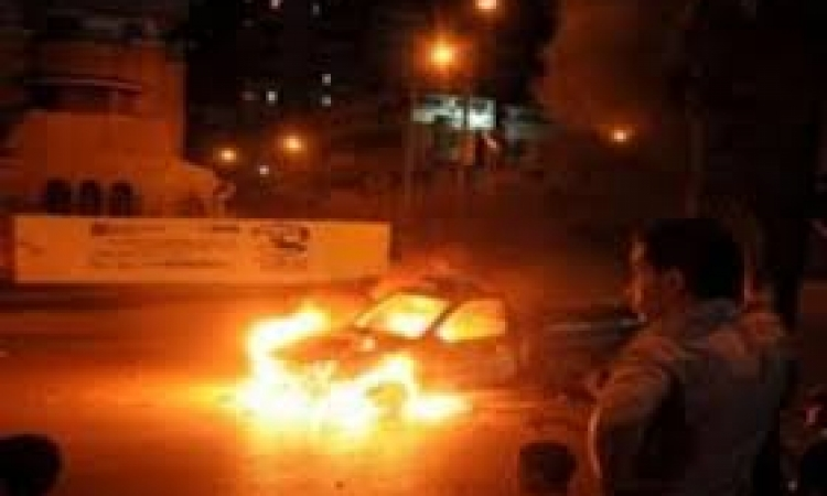 القوات المسلحة تفجر سيارة مفخخة بمدينة رفح