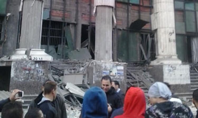 مقتل رئيس مباحث الجيزةو5جرحى فى انفجار قنبلتى ميدان النهضة