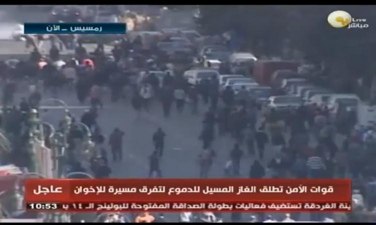 اشتباكات بين«الداخلية » و« الإرهابية» في محيط دار القضاء العالي