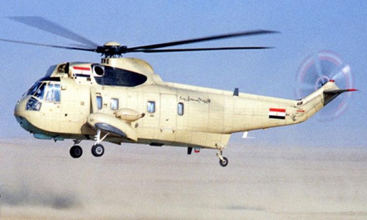 الطائرات العسكرية المصرية تواصل قصفها الصاروخي جنوب رفح والشيخ زويد