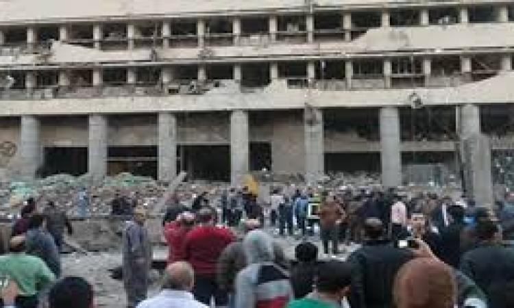 """مصارد من مستشفى أحمد ماهر : """" 3 وفيات و43 مصاب """" حتى الآن نتيجة تفجيرات مديرية أمن القاهرة"""