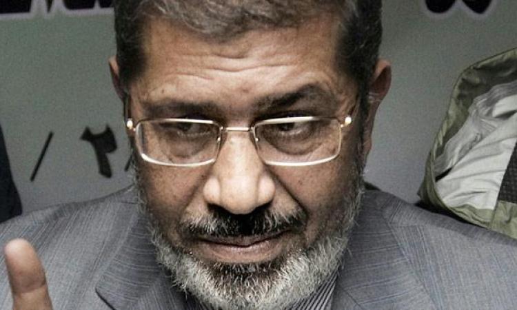 مرسي يصل أكاديمية الشرطة لحضور جلسة محاكمته «السرية» في أحداث الاتحادية