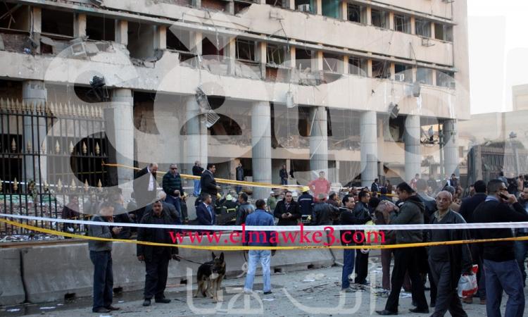 مصدر أمني يكشف عن أسماء مرتكبي تفجير مديرية أمن القاهرة