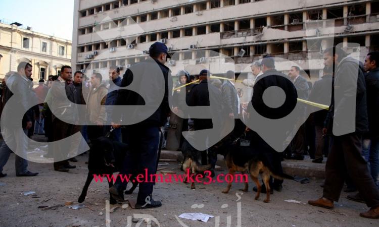 بدء مراسم الصلاة على شهيد أحداث مديرية أمن القاهرة