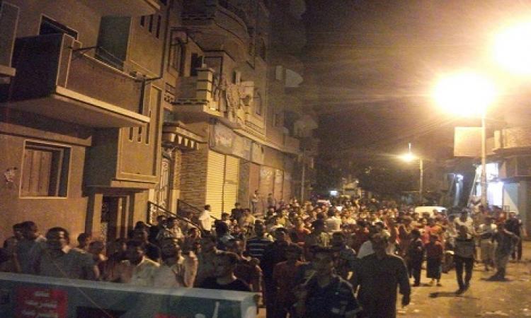 امن الشرقية يطلق الغاز لتفريق مسيرة للأخوان بالزقازيق