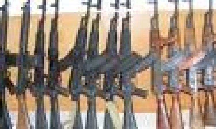 الأمن العام : ضبط أسلحة نارية وتنفيذ أحكام واعادة سيارات مسروقة