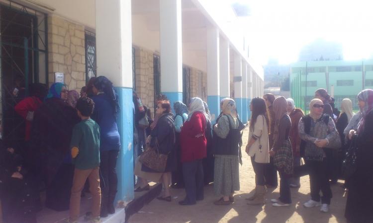 نشطاء يدشنون هاش تاج # كايدنهم لتحية النساء على مشاركتها في الاستفتاء