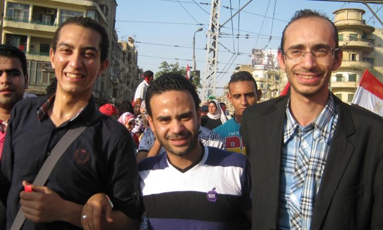 """""""محمود بدر"""" حسن قال في الخانكة نعم للدستور ونعمين للسيسي"""
