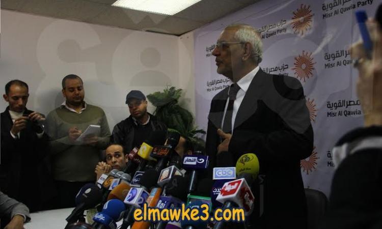 أبوالفتوح : النظام القمعى ما زال يسيطر على نفوس الناس وإرادتهم