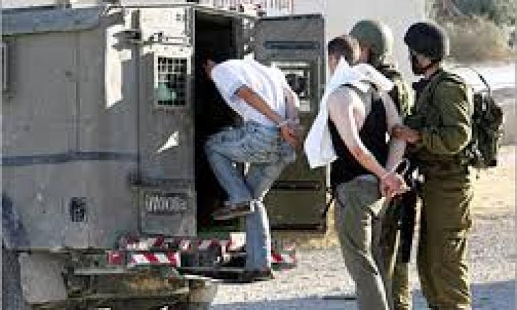تقرير فلسطيني : إسرائيل إعتقلت 45 طفلا وشابا فلسطينيا فى النصف الثانى من يناير الماضى