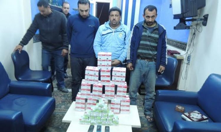 بالصور..ضبط إمام وخطيب وبحوزته 10 الاف قرص ترامادول بكفرالشيخ