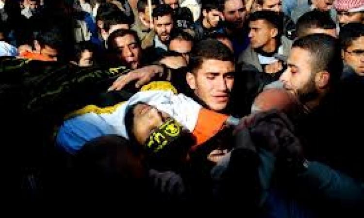 بالفيديو .. سقوط ثالث شهيد فلسطينى شمال الخليل