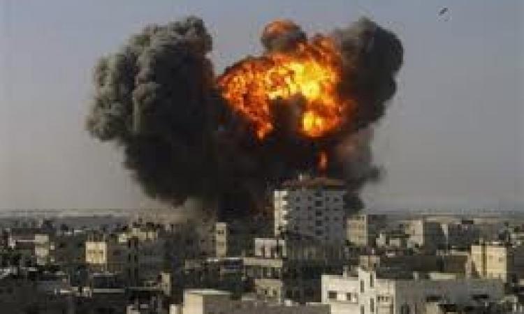 """الطيران الاسرائيلي يقصف منطقة """"الجرود"""" السورية"""
