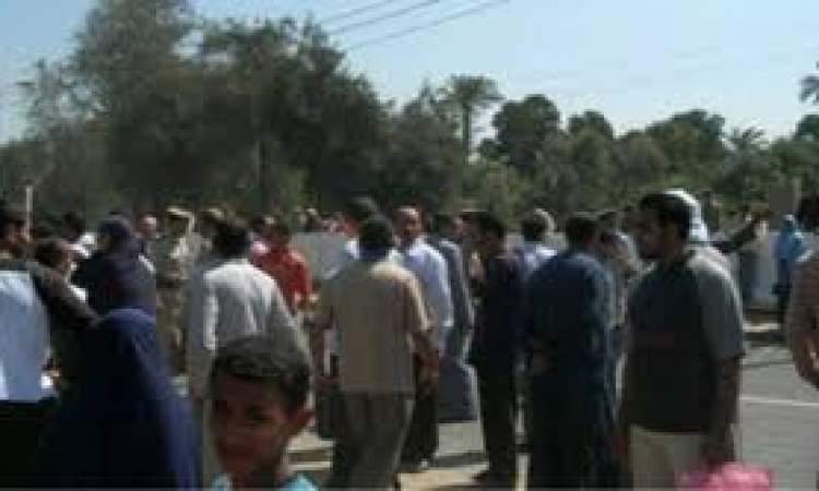 وقفة بالأسكندرية للمطالبة بإقالة قيادات محافظة أسوان