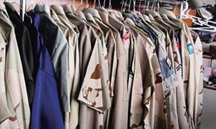 """ضبط متهم بحيازة ملابس لـ""""القوات المسلحة"""" بقنا"""
