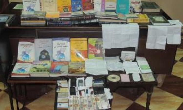 بالصور..حبس 14 إخواني خططوا لارتكاب أعمال إرهابية ضد الشرطة بالمنيا