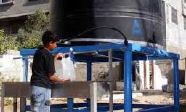 ضبط 560 لتر مياه مفلترة غير صالحة للاستخدام الادمى بمطروح