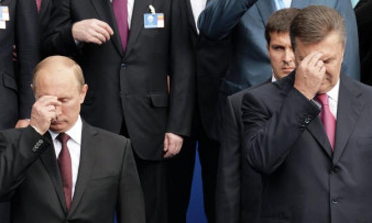 مؤتمر صحفي للرئيس الأوكراني المخلوع  في جنوب روسيا