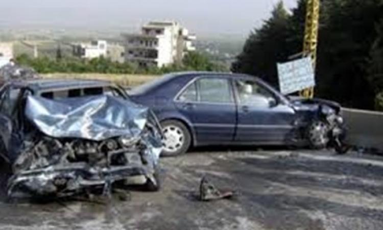 إصابة ضابط بالقوات المسلحة بكسور بحادث تصادم بالبحيرة