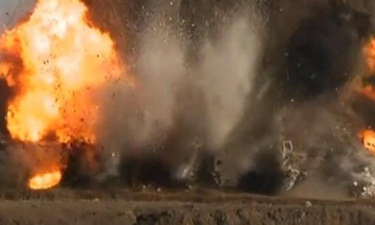 الحماية المدنية تسيطر علي حريق أعلي محور 26 يوليو