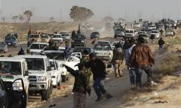 إعادة فتح الطريق الدولى أمام المسافرين المحتجزين بإجدابيا الليبية