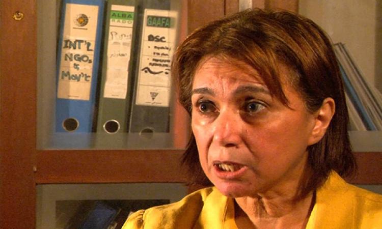 """""""الدستور"""" : """"شكرالله"""" أول امرأة تفوز برئاسة الحزب  بعد الثورة"""