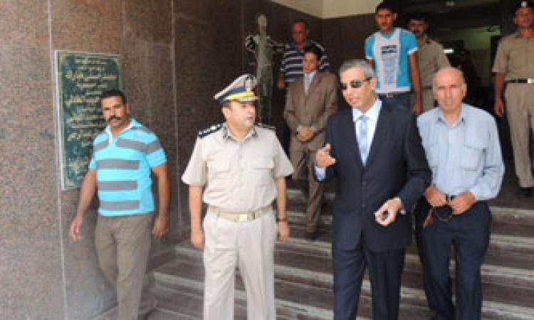 أفراد الشرطة يمنعون مدير أمن كفرالشيخ ومساعديه من دخول المديرية