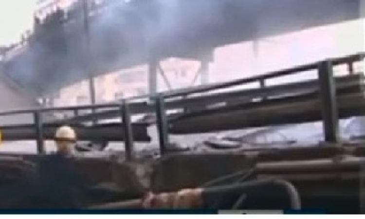 مأمور المرج: حادث انهيار الكوبري وقع نتيجة انفجار 3 إسطوانات بوتاجاز