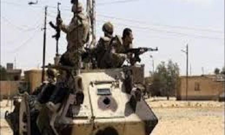 القبض على 37 مشتبة فيهم وحرق 23 دراجة بخارية و21 عشة وتدمير 8 انفاق فى سيناء