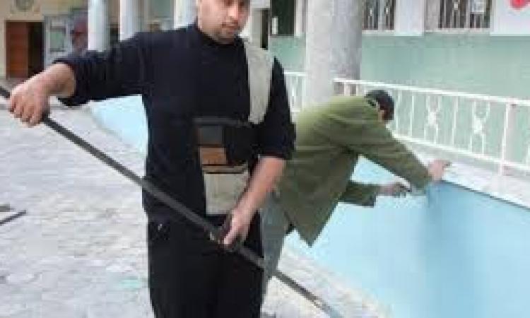 تواصل حملات النظافة بالمعسكرات الطلابية لمدارس دمياط