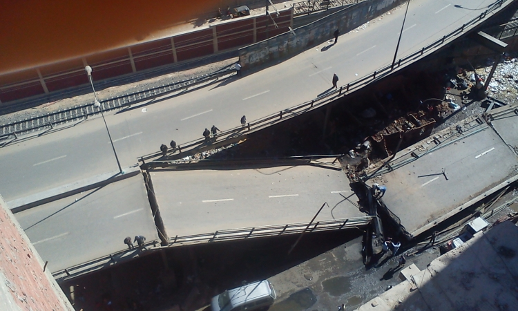 محافظ القاهرة: تخصيص وحدات سكنية عاجلة لمتضرري انهيار كوبري المرج