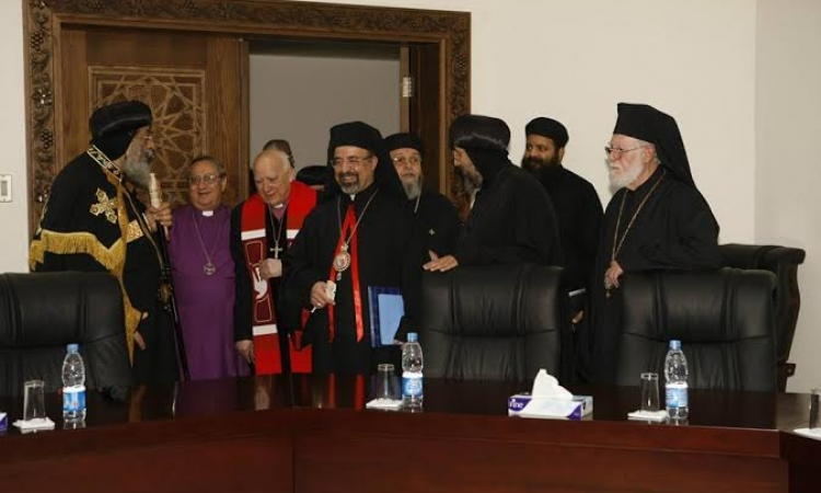 بالصور ..كنائس مصر تحتفل بمرور عام علي إنشاء مجلس موحد